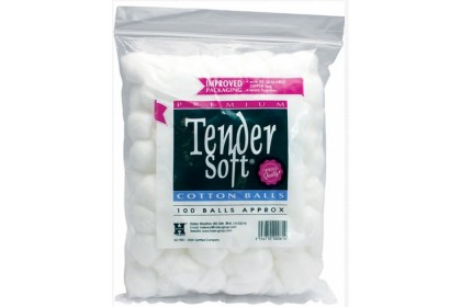 [MPLUS] TENDER SOFT COTTON BALLS 100S