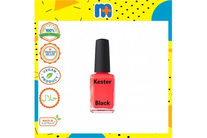 [MPLUS] KB003 KESTER BLACK Coral  Nail Polish 15ml