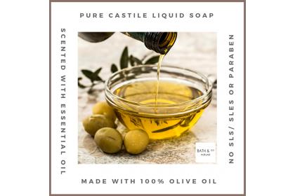 [MPLUS] BATH & CO Castile Liquid Soap Lavender Geranium 240ml