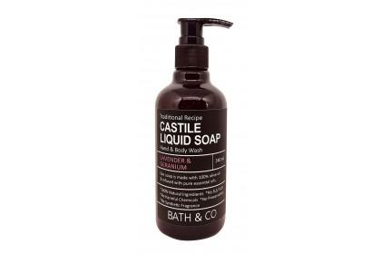 [MPLUS] BATH & CO Castile Liquid Soap Lavender + Geranium 100ml