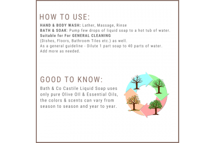 [MPLUS] BATH & CO Castile Liquid Soap Neroli + Ylang Ylang 100ml