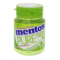 MENTOS PURE FRESH CHEWING GUM 57.75G, 1S (LIME MINT FLAVOUR)
