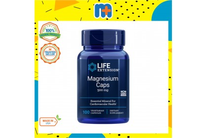 [MPLUS] Ready Stock Life Extension Magnesium Vege Caps 500Mg 100S