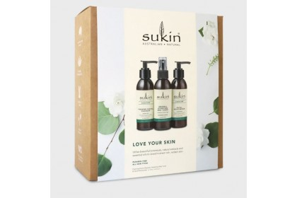 [MPLUS] Sukin Love Your Skin Pack (Foaming Cleanser, Hydrating Toner & Facial Moi)
