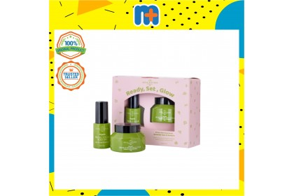 [MPLUS] SOUL SISTERS Morocco Prickly Pear Seed Oil Scrub & Oil Set 30ml