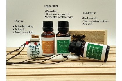 [MPLUS] WHITE SCENT Sick 5ml Essential Oil Gift Set