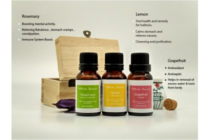 [MPLUS] WHITE SCENT Slim 5ml Essential Oil Gift Set