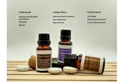 [MPLUS] WHITE SCENT Calm 5ml Essential Oil Gift Set