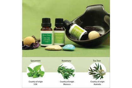 [MPLUS] WHITE SCENT Purify 5ml Essential Oil Gift Set