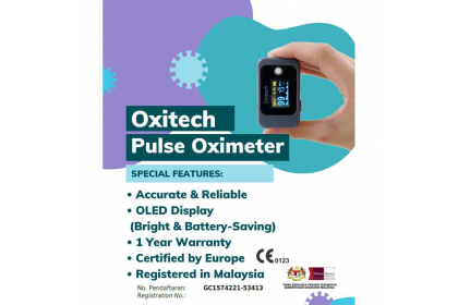 [MPLUS] OXITECH Pulse Oximeter (2AADO001)
