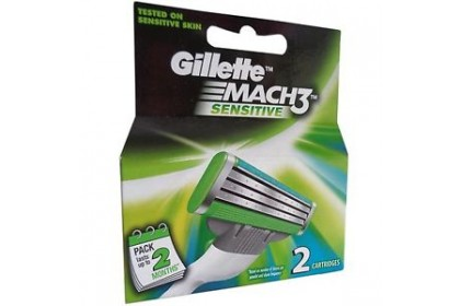 [MPLUS] Gillette Mach3 Sensitive 2 Cart