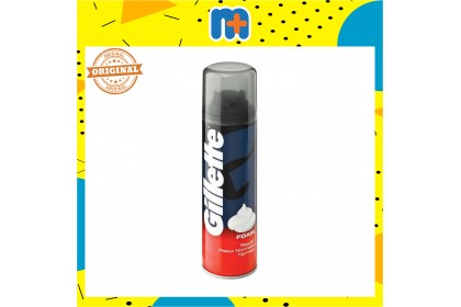 [MPLUS] Gillette Shave Foam Regular 200Ml