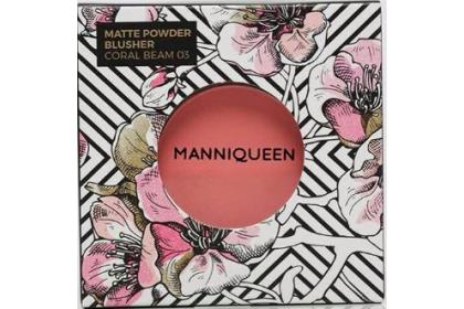 [MPLUS] Manniqueen Matte Powder Blusher - Coral Beam 03
