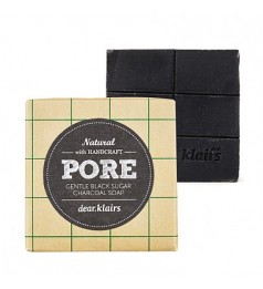KLAIRS KLS-010 GENTLE BLACK SUGAR CHARCOAL SOAP