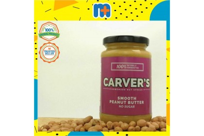 [MPLUS] Carver'S Smooth Peanut Butter 360Gm