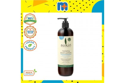 [MPLUS] SUKIN Lime & Coconut Hydrating Body Lotion 500ml