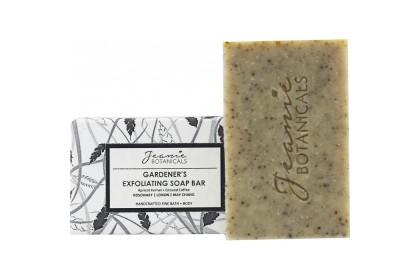 [MPLUS] JEANIE BOTANICALS Gardener's Exfoliating Soap Bar 100g