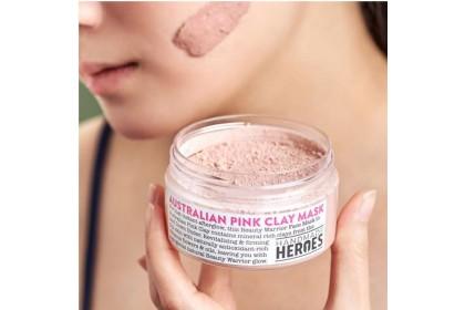 [MPLUS] HANDMADE HEROES Beauty Warrior Face Mask - Australian Pink Clay 60g