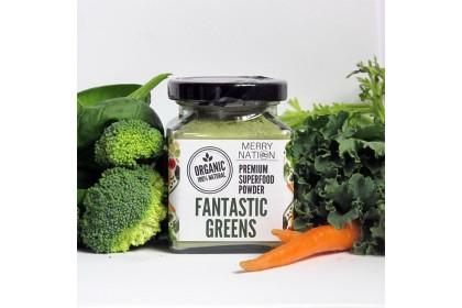 [MPLUS] Merry Nation Fantastic Greens Powder 100G