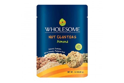 [MPLUS] Wholesome Nutcluster With Almonds 50G