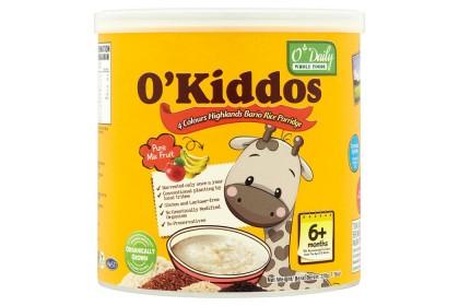 [MPLUS] O'KIDDOS Bario Rice Porridge Mixed Fruits 230g