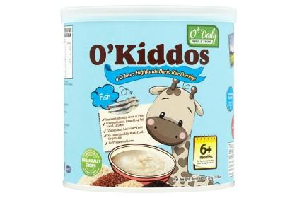 [MPLUS] O'KIDDOS Bario Rice Porridge Fish 230g