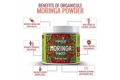 [MPLUS] ORGANICULE Moringa Powder 200g