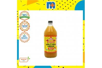 [MPLUS] BRAGG Organic Apple Cider Vinegar 946ml