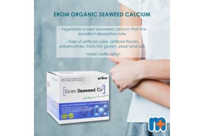 [MPLUS] EROM Organic Seaweed Calcium 2.5Gx90S