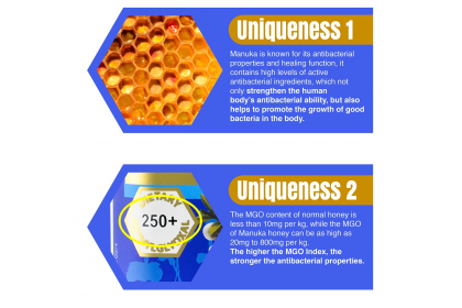 [MPLUS] EU YAN SANG Honey Mart Manuka Honey MGO 550+ 250g