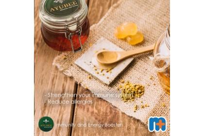 [MPLUS] AYUBEE Mountain Sidr Honey 200G