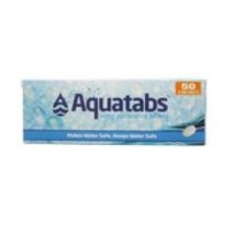 AQUATABS WATER PURIFICATION TABLETS 50S