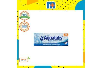 [MPLUS] AQUATABS WATER PURIFICATION TABLETS 50S