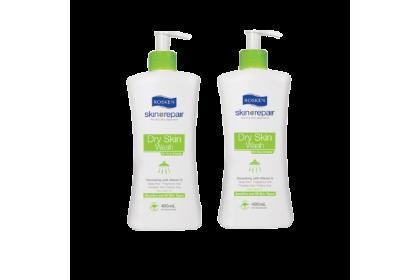 [MPLUS] ROSKEN Dry Skin Wash 400ml Twin Pack