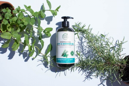 [MPLUS] PETAL FRESH Energizing Bath & Shower Gel Rosemary & Mint 475ml