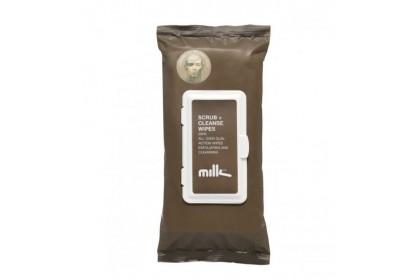 [MPLUS] MILK & CO Scrub + Cleanse Wipes 24X18.5cm