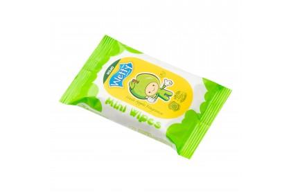 [MPLUS] Wetty Mini Wet Wipes (Apple Fresh) 8S