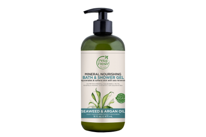 [MPLUS] PETAL FRESH Mineral Nourishing Bath & Shower Gel Seaweed & Argan Oil 475ml