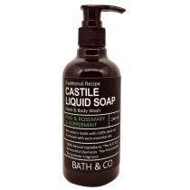 BATH & CO CASTILE LIQ SOAP 240ML PINE ROSEMARY PEPPERMINT