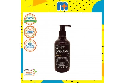 [MPLUS] BATH & CO Castile Liquid Soap 240Ml Orange