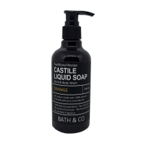 BATH & CO CASTILE LIQ SOAP 240ML ORANGE