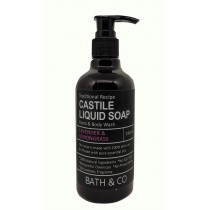 BATH & CO CASTILE LIQ SOAP 250ML LAVENDER LEMONGRASS