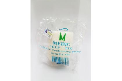 (MPLUS) MEDIC SELF-FIX CCB WHITE 6CM X 4.5CM