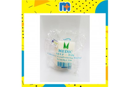 [MPLUS] Medic Self-Fix Ccb White 6Cm X 4.5Cm