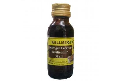[MPLUS] Wellmex Hydrogen Peroxide 30Ml