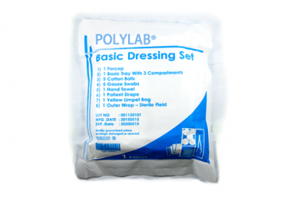 (MPLUS) POLYLAB BASIC DRESSING SET 1S