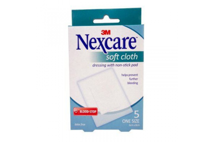 [MPLUS] NEXCARE Soft Cloth Dressings (60X80mm) 5S