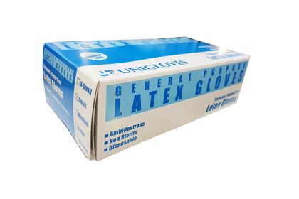 [MPLUS] Latex Gloves [Powder Free] Size S 100S