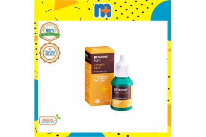 [MPLUS] BETADINE Antiseptic Solution Twin Pack 30ml x 2