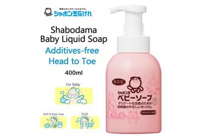 [MPLUS] SHABONDAMA Baby Liquid Soap 400Ml